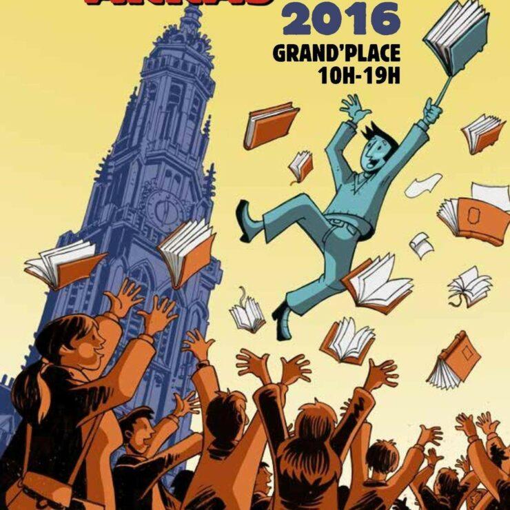 Le salon du livre d'Arras: les jeunes de Youth is great y étaient !