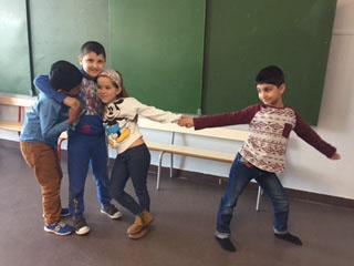 MIAA CHRONIQUE 5- A l'école Boufflers, on construit  des pyramides !