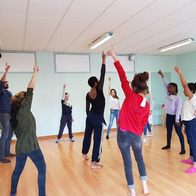 Au collège Flandre, on fait danser les mots / Résidence MIAA chronique#7