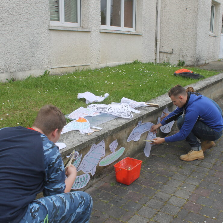 Résidence départementale : à Cambrai, on a mis en couleurs la Maison d'enfants Saint-Druon