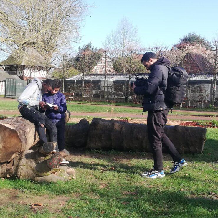 CHRONIQUE MIAA #4 – Les élèves du collège Lavoisier à Lambersart en plein tournage !