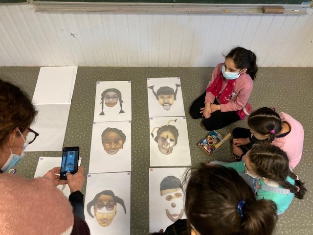 Résidence MIAA #3 : Les élèves des écoles Duruy et Toulouse-Lautrec se projettent dans la conception d'une fête !