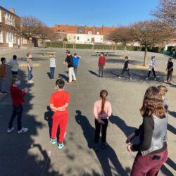 Le Grand Bleu au sein du dispositif «École ouverte» de l'école André Malraux à Croix